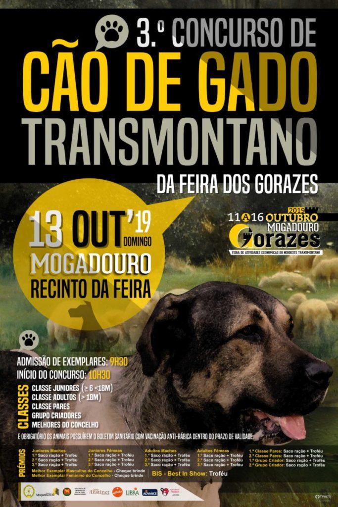 III concurso CAO DE GADO TRANSMONTANO gorazes 2019